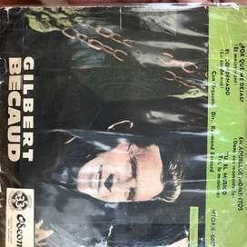 EP de Gilbert Becaud año 1961