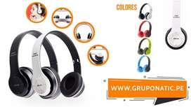 Audifonos Bluetooth 4.1 Inalámbricos Radio sd Gruponatic La Molina