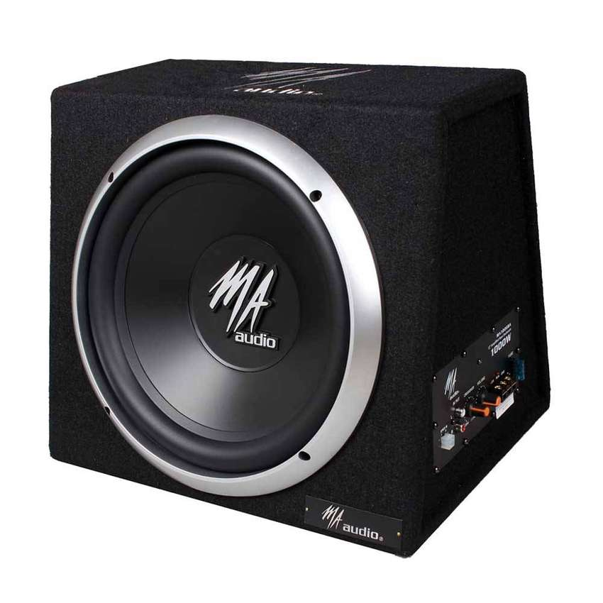 """MA Audio - 12"""" Subwoofer BOX 1000W 0"""