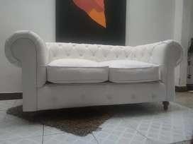 Sofa Chester o capitoniedo