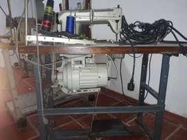 Maquina de coser industrial plana