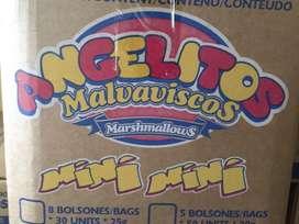 Mashmallows masmelos mini mini malvaviscos