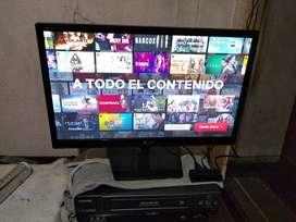 TV Y MONITOR LG 22'' CON REMOTO