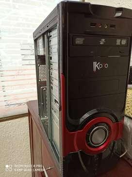 Vendo barata, torre con procesador core dos dúo e7500 para estudio, trabajo y uso doméstico
