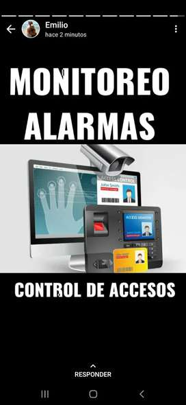 Cámaras alarmas seguridad