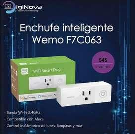 Enchufe inteligente Wemo F7C063
