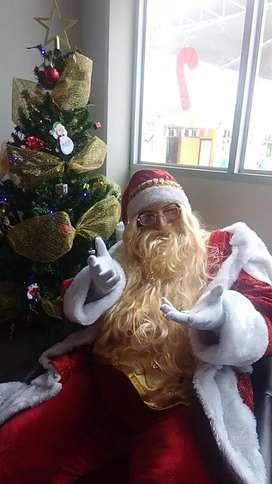 Show infantil virtual con papa noel santa Claus online