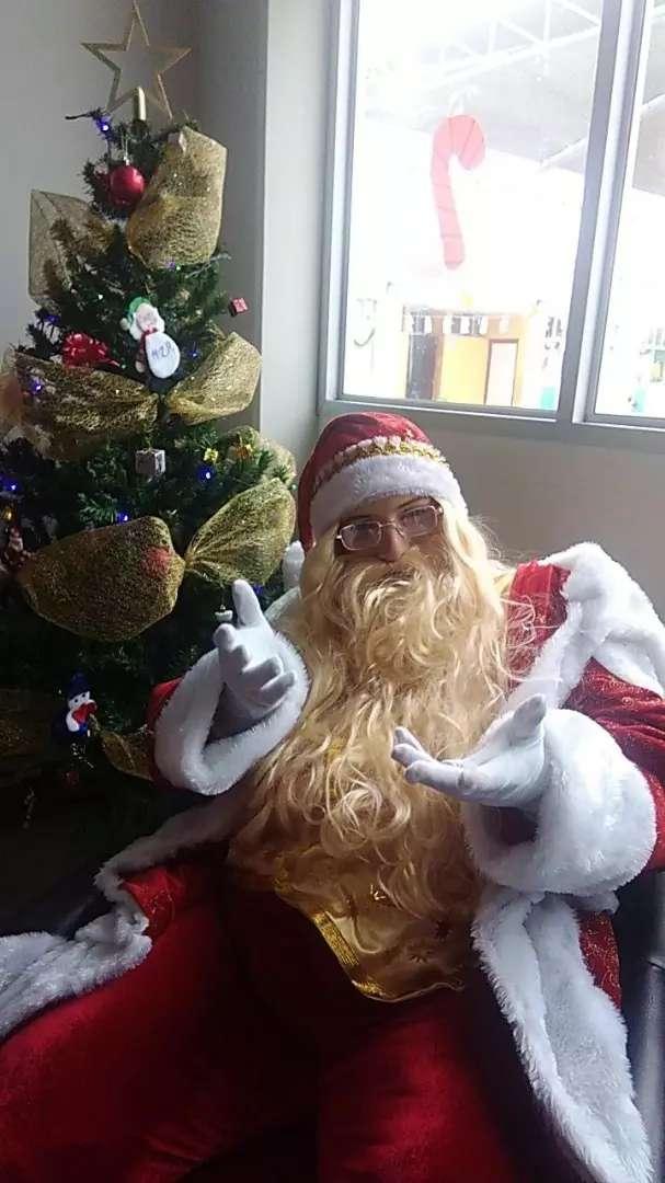 papa noel santa Claus online virtual zoom 0