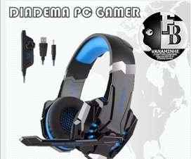 Diadema PC gamer