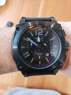 INGERSOLL BISON # 24 LIMITED AUTOMATIC CHRONOGRAPH 50MM MENS WATCH.