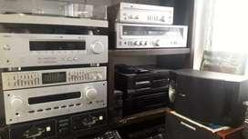 Equipos Vintage, varios  solo Hi-Fi , exelente estado