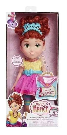 Muñeca Fancy Nancy Disney con Vestido 25 cm Original Jakks.