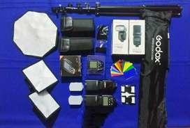 Kit de iluminación Godox para Nikon