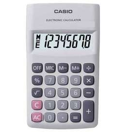 Calculadora D Bolsillo Casio Hl-820dwe 8 Digitos Pila Amadeo