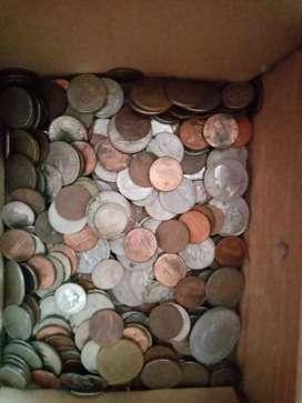 Monedas de varias