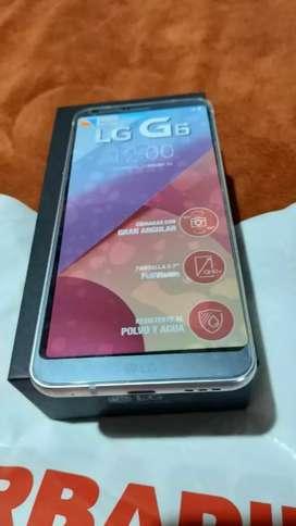 LG g6 igual a nuevo,