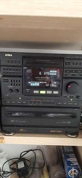 Equipo de sonido AIWA SX 810 Magnetic Shield Speaker System