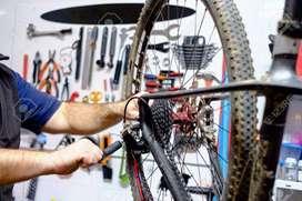 Se necesita macanico de bicicletas con experiencia