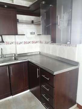 Apartamento amplio de tres alcobas con closet