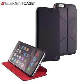 Estuche Element Case Soft-Tec Iphone 6 Plus Negro