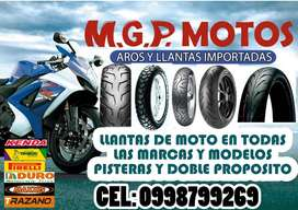LLANTAS DE MOTO RIN 19
