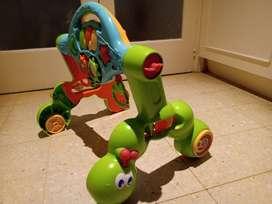 Gimnasio andador para bebés