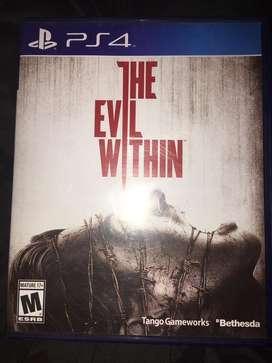 Vendo- the evil within- PS4