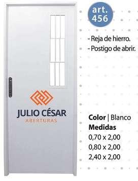 Puerta Doble Inyectada Premium Postigoreja Abrir de 70 x 200
