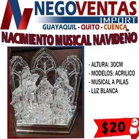 NACIMIENTO MUSICAL NAVIDEÑO