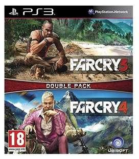Combo Far Cry 3 , Far Cry 4 Ps3