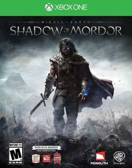 Middle Earth: Shadow Of Mordor Xbox One, Físico
