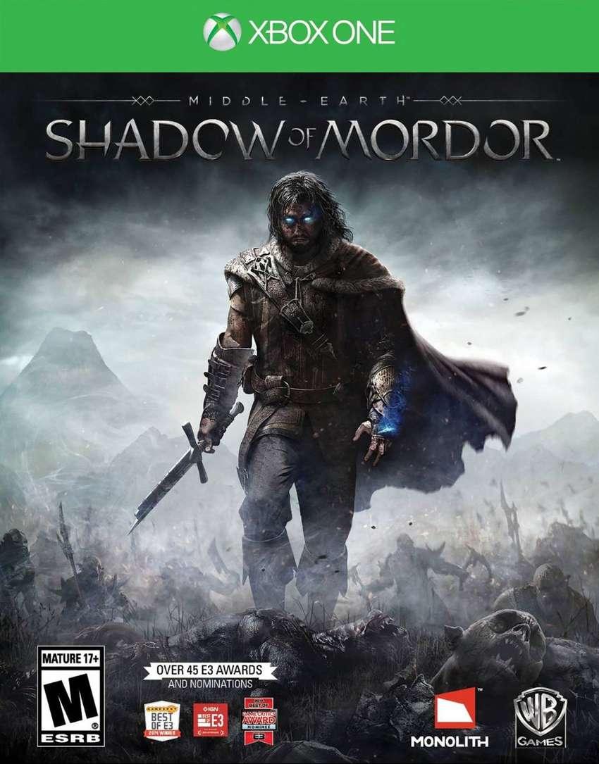 Middle Earth: Shadow Of Mordor Xbox One, Físico, Nuevo y sellado