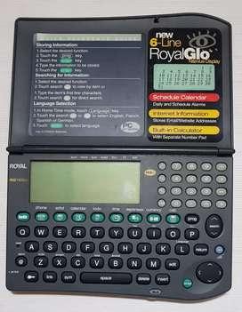 Organizador electronico Royal RG1160ex
