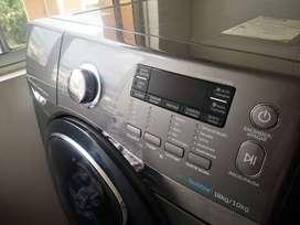 Se vende lavadora y secadora samsung