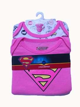 Set de dos piezas para niña Supergirl