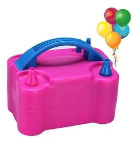 Inflador eléctrico para globos y otros artículos para fiesta