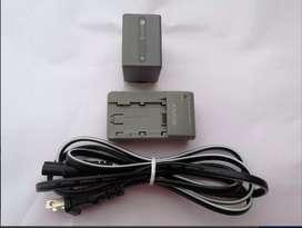 Bateria Sony Npfp 90,mas Cargador,mas Cable De Cargador