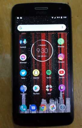 (NEGOCIABLE)Motorola g5 plus con defecto en la pantalla