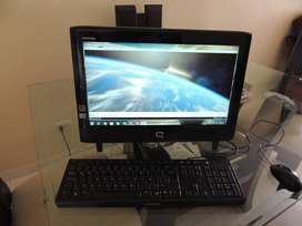 Vendo Computador todo en uno Compaq CQ1 en perfecto estado