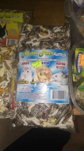 Alimento Bslanceado para Hamster