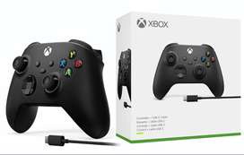 Control Xbox One Y Series Carbon Black + Cable