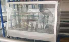 Vitrina con calefacción