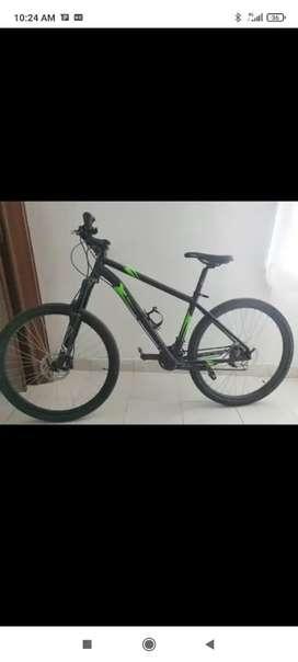 Bicicleta, Gw en aluminio, grupo Shimano 9velovidades