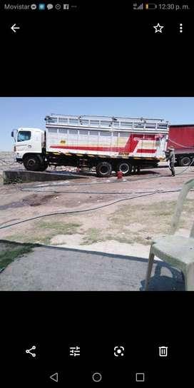 MARCA- HINO  MODELO- HINOWAR-2626 AÑO 2008 TORTON MOTIVO POR RENOVACIÓN DE FLOTA
