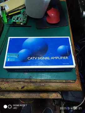 Amplificador Señal de Cable 8 tomas