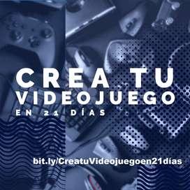 Crea tu Videojuego en 21 días