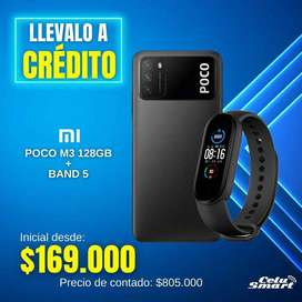 Poco M3 + Mi Band 5