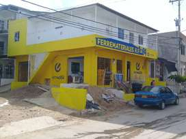 Venta de local comercial 2 apto para arrendar inventario de ferreteria