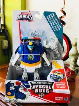 Rescue bots transformers policia