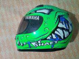 Casco Shaft alligator verde talla L